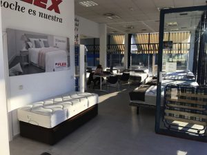 Interior tienda Flex Factory Villaviciosa de Odón Madrid